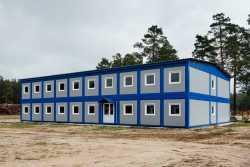 Быстровозводимые модульные здания